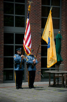 Spirit of Princeton Flag Day ceremony in Princeton 2015