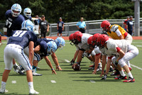HS FOOTBALL (Scrimmage) - Notre Dame at Hunterdon Central Regional
