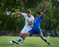 High School boys soccer West Windsor-Plainsboro North at Notre D