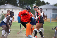 High School field hockey Hun at Nottingham 2015-09-22