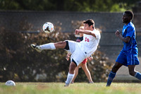High School boys soccer Hightstown at Lawrence 2015-09-24