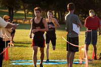 High School cross-country Patriot Division meet at Mercer County