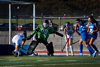 High School field hockey Hightstown at Notre Dame