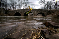 Repairs underway on Stony Brook Bridge