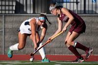 High School field hockey Holy Cross at Notre Dame 2015-11-04