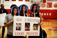 High School girls basketball Allentown at Lawrence: Allentown's Hartshorn makes 1000 point