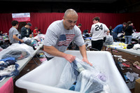Rescue Mission of Trenton world record clothing drive