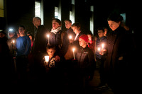 Candlelight vigil by Princeton University students a tribute to