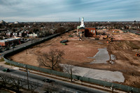 Demolition continues on old Trenton High School 2016-01-20