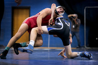 High School wrestling Robbinsville at Princeton 2016-01-13