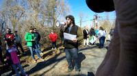People Over Pipelines rally and march in Bordentown