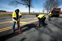Mercer County  crews repair road damage from winter storms