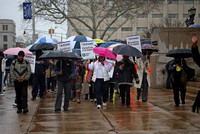 Healthcare march from Trenton City Hall to State House