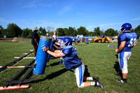 HS FOOTBALL: Princeton High School preseason football