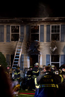 Blaze destroys house on Ronit Drive in Ewing