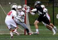 High School boys lacrosse Hun at Lawrenceville
