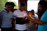 Vigil held for teen shot to death