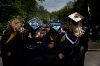 TCNJ 2016 Creative mortarboards