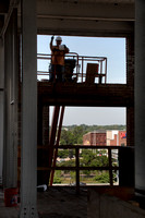 See inside the Roebling Lofts construction in progress - June 20