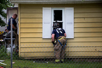 Man retrieves autistic teen sister from house fire