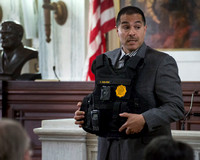 Trenton police explain use of body cameras at 1st of 5 community