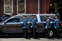 Massive turnout for New Jersey Corrections Officer funeral