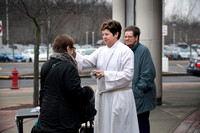 Ash Wednesday marked in Mercer County