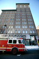 Fire department handles call at Broad Street Bank Apartments