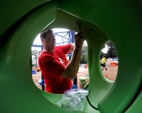 200 Let's Play volunteers build playground in a day at Trenton c
