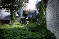 Fire destroys home in south Trenton