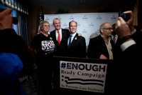 Brady Campaign to Prevent Gun Violence press conference with Phi
