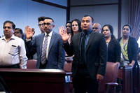 Naturalization Ceremony held at the U.S. District Court