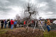 Pruning demonstration at Terhune Orchards in Lawrence