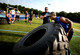 Strongman competition at Notre Dame High School 2014
