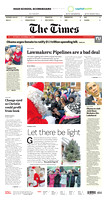 December 13, 2014, Times Page 1