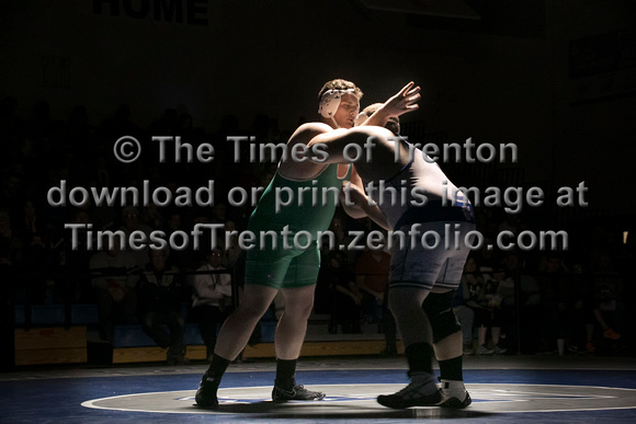 High School wrestling Brick Twp at Northern Burlington 2016-02-0