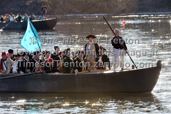 Washington's Christmas Day Crossing of the Deleware17