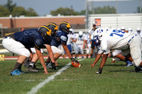 HS FOOTBALL (Scrimmage) - Hightstown at Nottingham