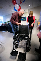 SES employees build 15 wheelchairs for local veterans