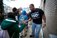 '100 Man Welcome' encourages students at Foundation Charter Acad