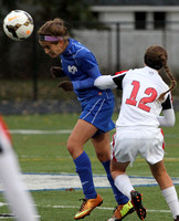 Hightstown vs Pennington, Mercer County Girls Soccer Tournament Final, Nov. 1, 2014