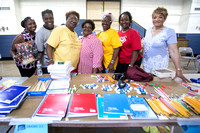 Sorority provides school supplies