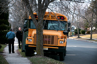 School bus hits tree in West Windsor