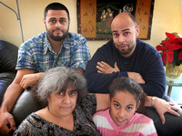 Trenton filmmaker Kell Ramos and his family try to protect victims of domestic violence. 1/3/2014