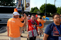 Trenton Thunder Fan Photos from Times Square 6/17/2014