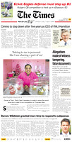 December 19, 2013, Times Page 1