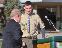 EagleScoutProjectVeteransMemorialdedication13