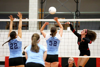 GIRLS VOLLEYBALL: Notre Dame at Lawrenceville