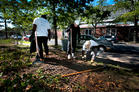 Collaborative beautification effort at Gregory School involves s