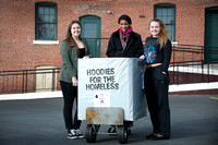 Steinert seniors collect 'Hoodies for the Homeless'